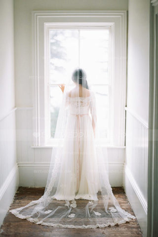 long-lace-edged-wedding-bridal-veil-without-comb