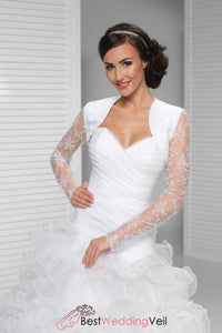 long-sleeve-bridal-lace-white-wedding-jacket