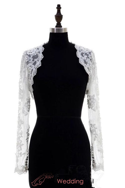 long-sleeve-lace-bolero-jackets-wedding