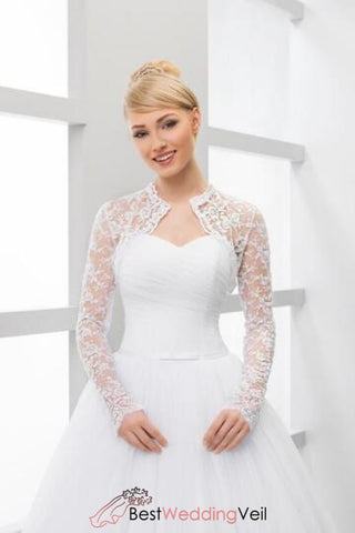 long-sleeve-lace-bridal-wedding-bolero-jacket-in-white-and-ivory