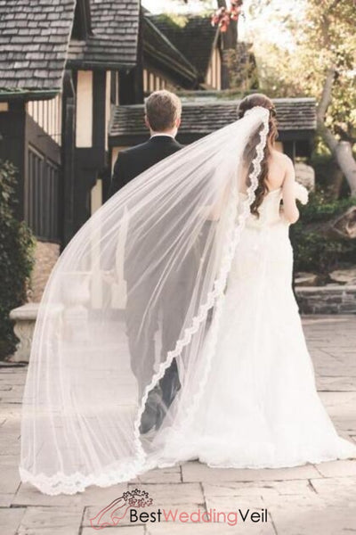 modern-cathedral-bridal-veil-with-alencon-lace-edge