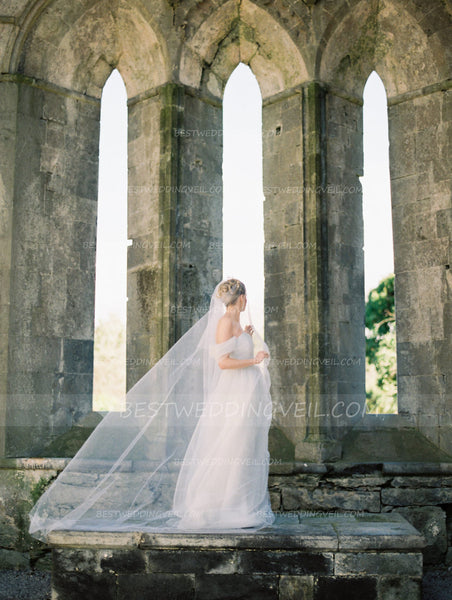 one-layer-tulle-ivory-long-veil-for-wedding-1