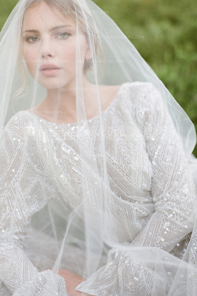 one-layer-tulle-long-outside-wedding-veil-without-comb-1
