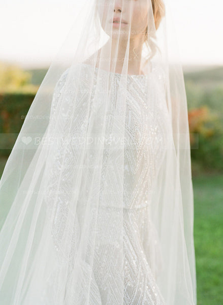 one-layer-tulle-long-outside-wedding-veil-without-comb-2