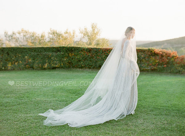 one-layer-tulle-long-outside-wedding-veil-without-comb-3