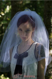pure-white-tulle-elbow-wedding-veil-with-blusher