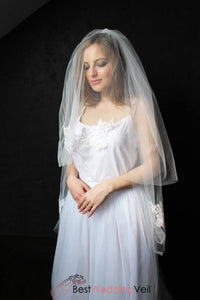 ready-to-ship-two-layer-short-bridal-lace-veil-with-comb