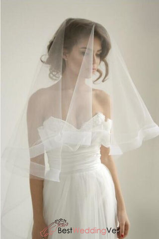 ribbon-wedding-veil-with-blusher-circle-drop-style