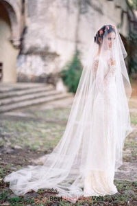romantic-illusion-tulle-boho-bridal-veil-online