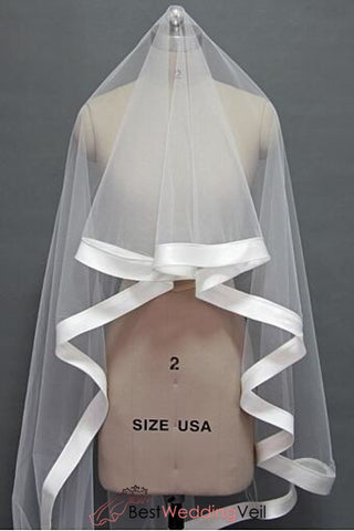 satin-ribbon-edge-long-wedding-veils-for-ball-gown-dresses