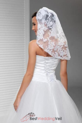 short-style-full-lace-wedding-veils-shoulder-length