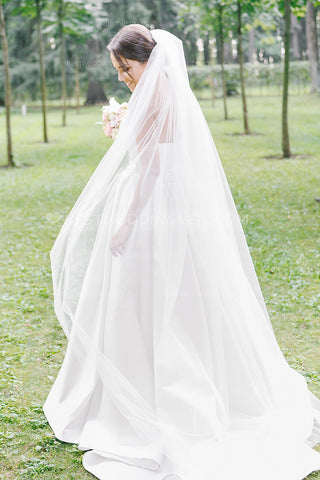 simple-one-layer-tulle-ivory-veil-wedding-uk-bride-accessories