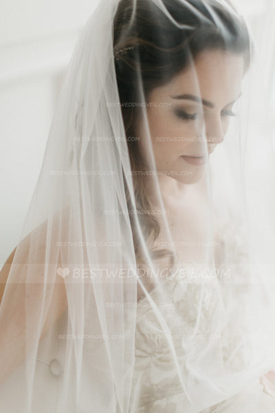 simple-tulle-ivory-long-veil-wedding-with-comb-1
