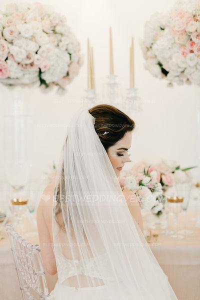 simple-tulle-ivory-long-veil-wedding-with-comb-2