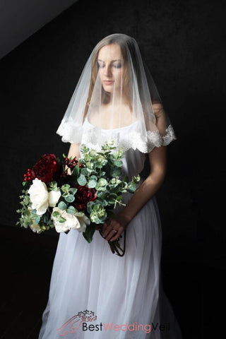 single-tier-drop-veil-for-wedding-elbow-length-cheap-laced-trimed-bridal-veils