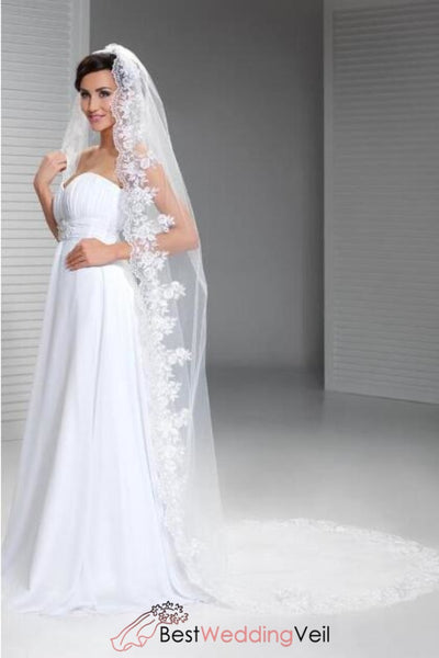 single-tulle-long-bride-veils-with-appliqued-edged