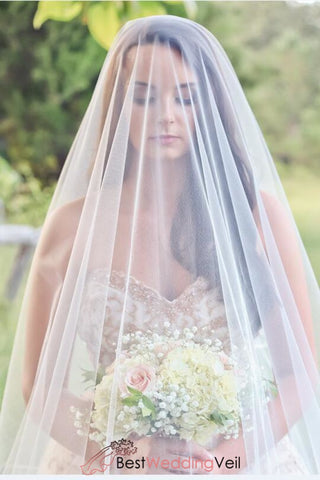 soft-drop-wedding-veil-single-layer-tulle