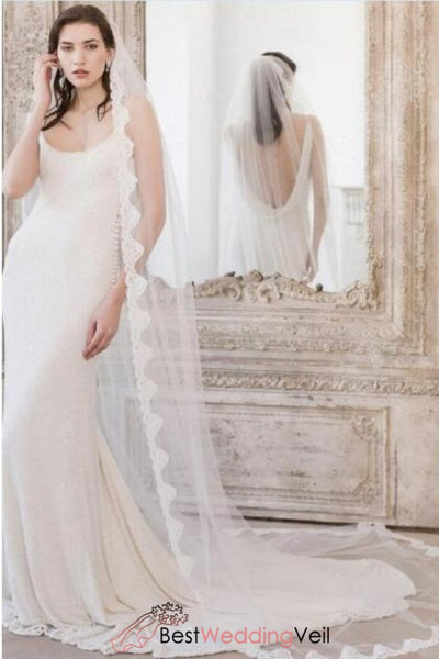 traditionally-applique-lace-edge-long-veil-for-wedding