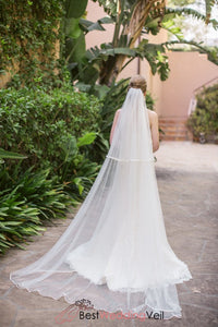 two-layers-tulle-long-bride-ribbon-veil-for-wedding