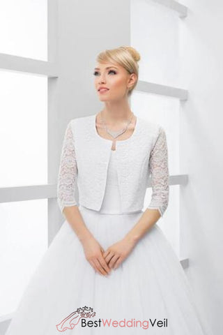 white-bridal-lace-jacket-with-3-4-sleeve-satin-cover-up