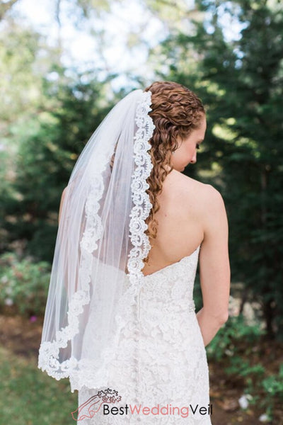wholesale-lace-trim-wedding-veil-fingertip-one-tier-tulle