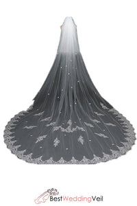 wholesale-wedding-veils-lace-edge-double-tier-sheer-tulle