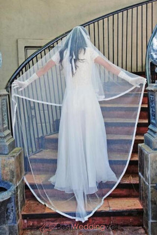 wide-satin-edge-floor-length-boho-wedding-veils-with-blusher