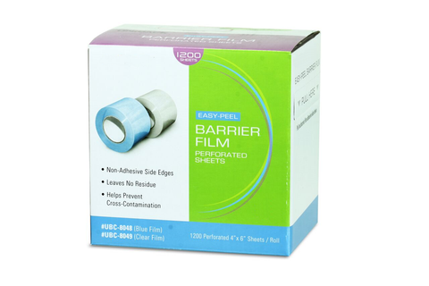 Barrier Film, 4 ft x 6 ft (1,200 Sheets/Roll)