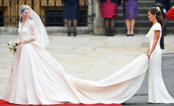 Kate Middleton Royal Wedding Dresses