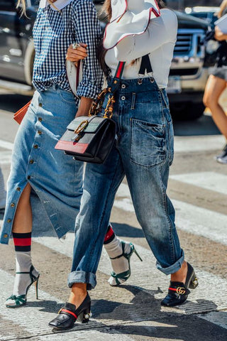 gucci street style socks and sandals trend francesca castellano