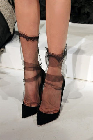 socks and heels trend francesca castellano