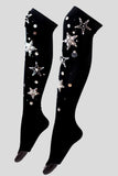 """MILKY WAY"" high-knee socks"