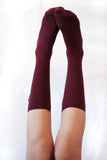 """MAGIC BOW' high-knee socks"