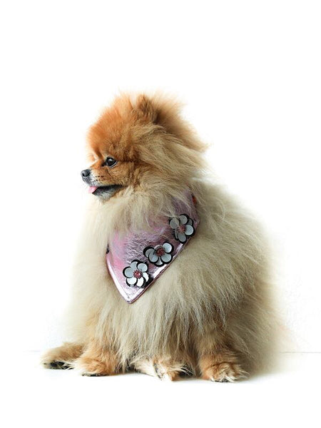 """MISS PINKY"" Dog bandana"
