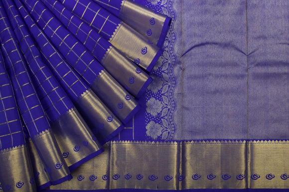 Trisha's Sophisticated Royal Blue Colored Festive Wear Pattu Saree
