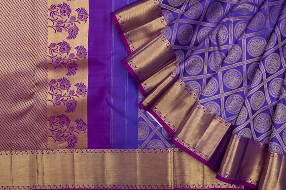 Trisha's Glowing Blue Colored Traditional Pattu Saree