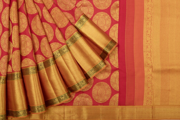 Trisha's Adorable Red Colored Kanchipuram Stylized Pattu Saree