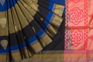 Trisha's Flawless Multi Colored Festive Wear Handloom Silk Saree