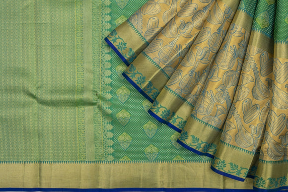 Trisha's Green Colored Wedding Pattu Saree