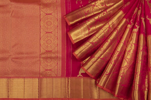 Trisha's Maroon Colored Wedding Saree