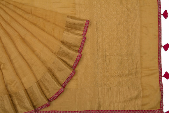 Trisha's Majestic Dark Beige Colored Designer Saree