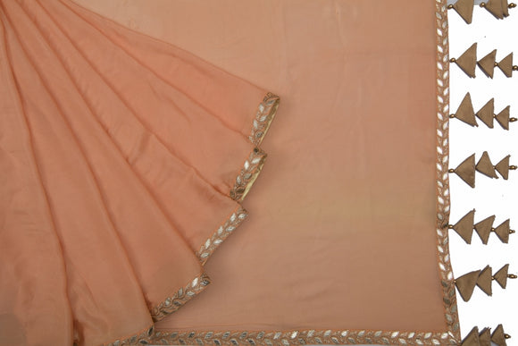 Trisha's Peach Colored Designer Saree