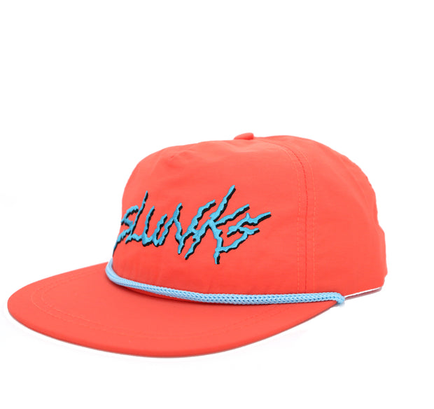Orange Nylon Hat