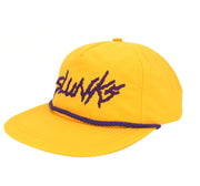 Purple and Gold Nylon Hat