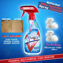 Multi-functional Effervescent Spray Cleaner