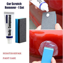 Body Compound Car Scratch Remover - 1 Set