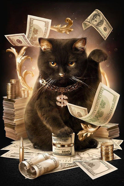 VanGo Painting By Numbers - The Money Cat (16