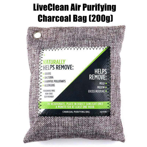 LiveClean Air Purifying Charcoal Bag (Special Bundle)