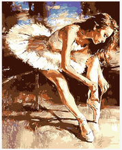 "VanGo Painting By Numbers - The Ballet Dancer (16""x20"" / 40x50cm)"