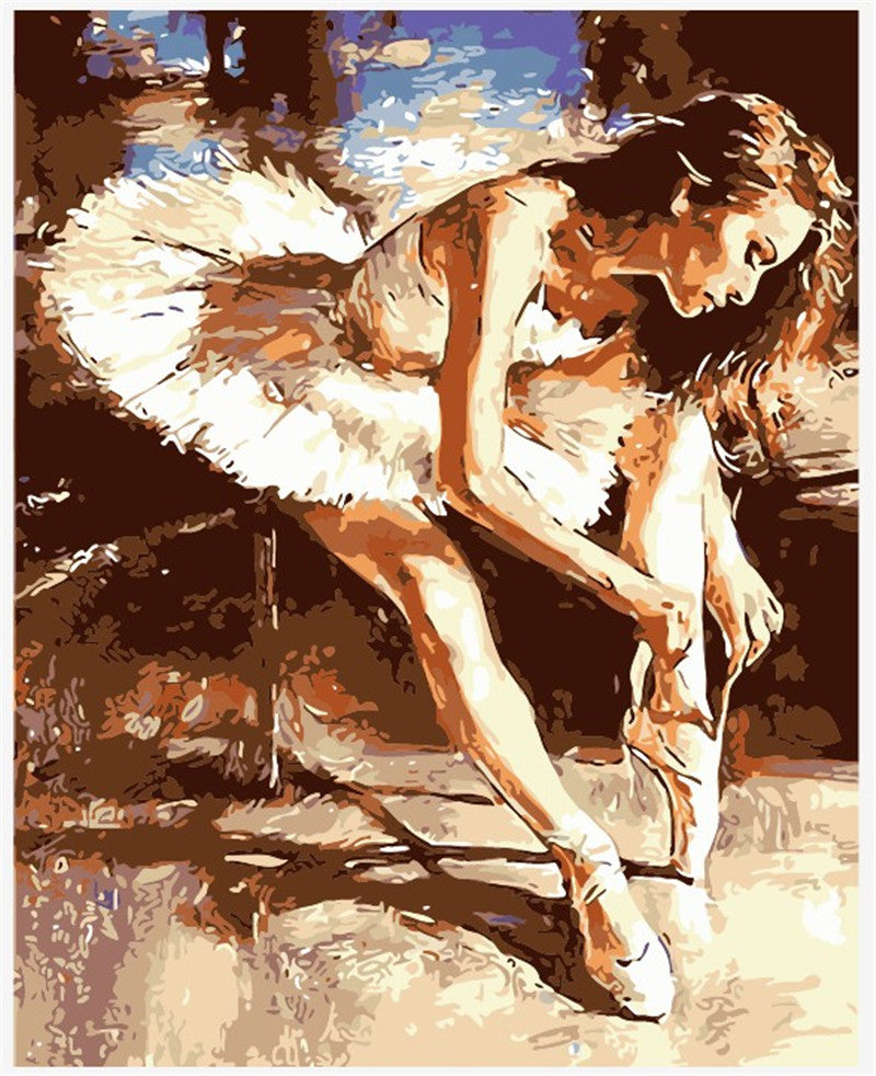 VanGo Painting By Numbers - The Ballet Dancer (16